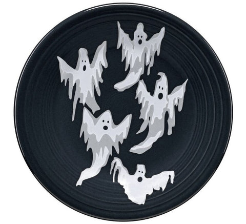 Fiesta Halloween Collection Ghosts Luncheon Plate