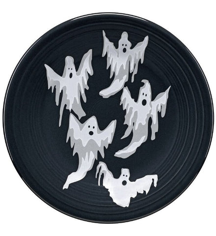 Fiesta Halloween Collection Ghosts Appetizer Plate
