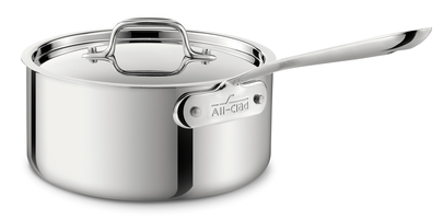 All-Clad 4 Qt. Stainless Sauce Pan with Lid