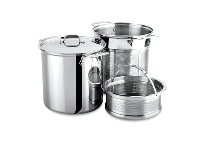 All-Clad Stainless 8 Qt. Multi-Cooker with Insert