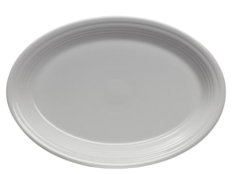 Pryde's Fiesta White Large Oval Platter