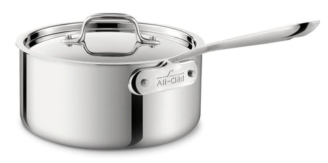 All-Clad Stainless Steel 3-Quart Sauce Pan