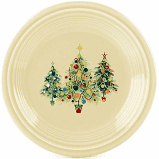 First Christmas Tree Trio of Trees Salad Plate