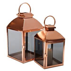 Copper Lantern, Medium