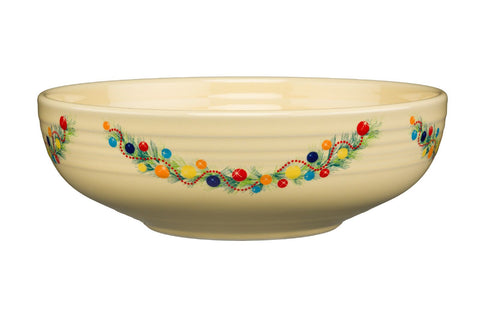 Fiesta Christmas Tree Large Bistro Bowl