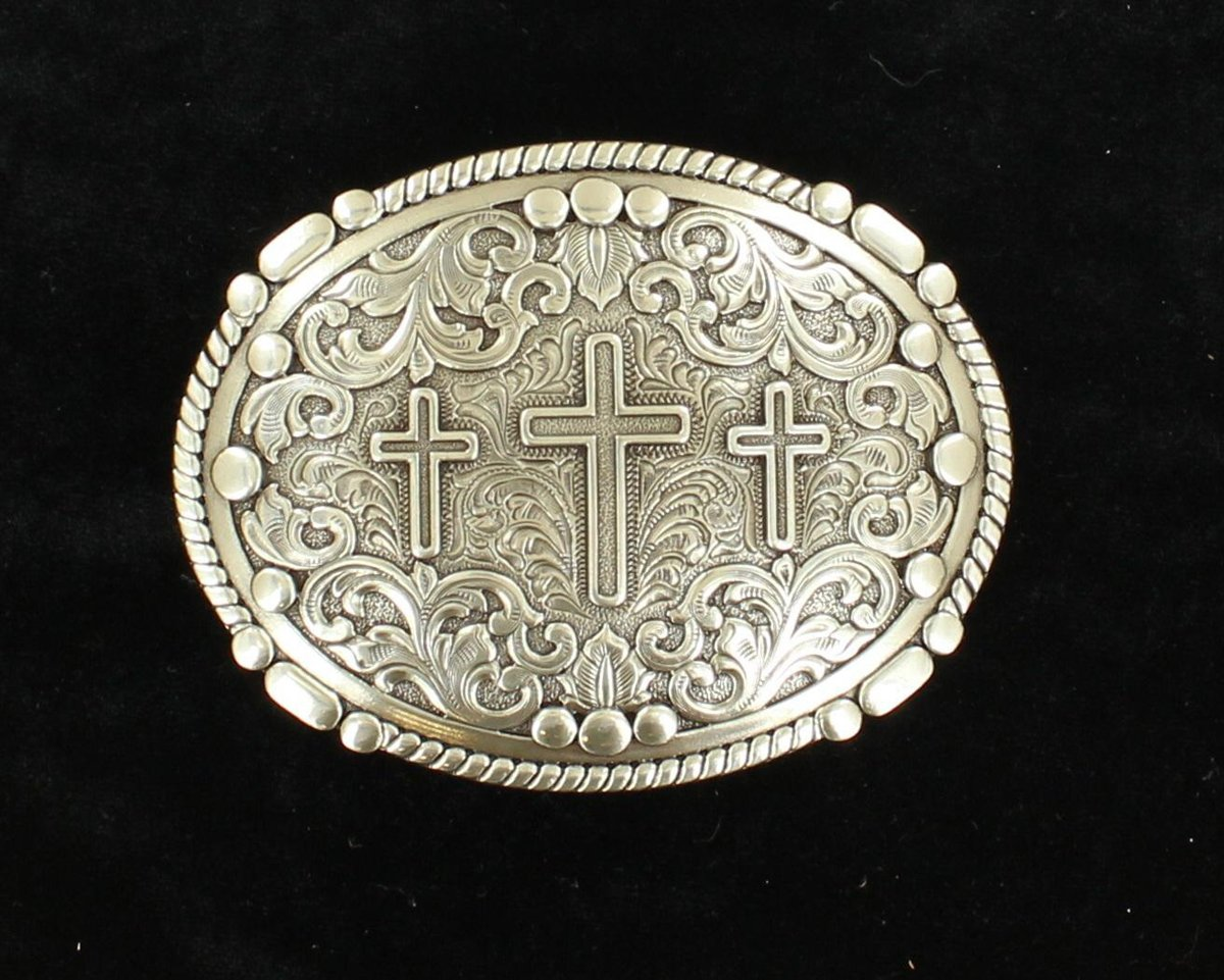 3 CROSS BUCKLE