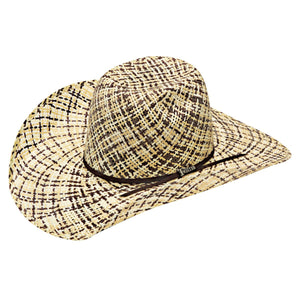 3-TONE TWISTED WEAVER STRAW HAT