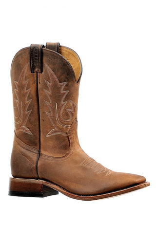 MESQUITE TAN MENS SQ TOE BOOT