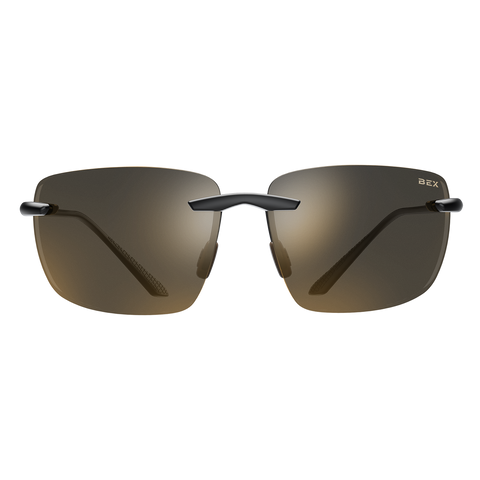 APEX BLACK/BROWN BEX SUNGLASSES
