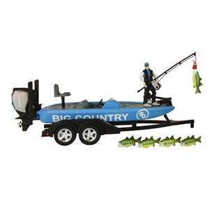 BIG COUNTRY BASS BOAT SET