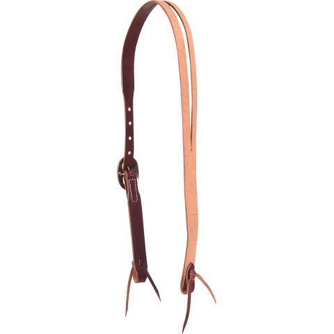 NATURAL ROUGHOUT SPLIT EAR HEADSTALL
