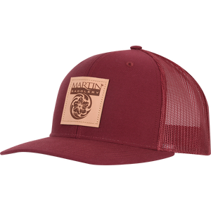 LEATHER PATCH MARTIN SADDLERY CAP