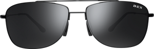 DRAEKLYN BLACK/GRAY BEX SUNGLASSES