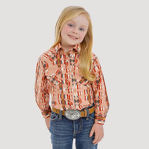 11/15 GIRLS BLUSH AZTEC LONG SLEEVE SHIRT