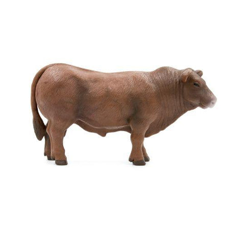 RED ANGUS BULL TOY