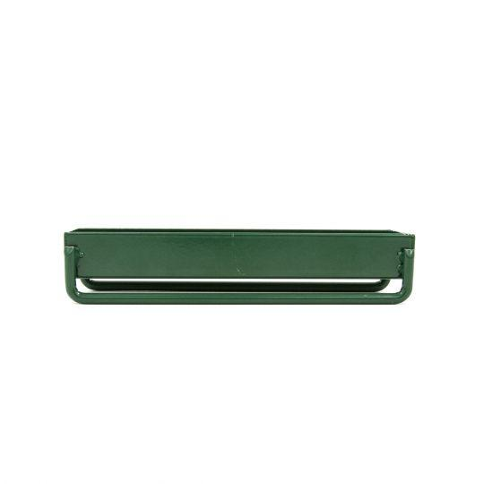 GREEN CATTLE FEED TROUGH