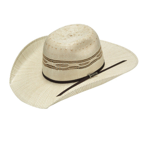 YOUTH PUNCHY BANGORA STRAW HAT