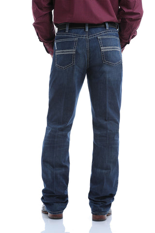 MENS DARK STONE ARENAFLEX WHITE LABEL JEAN