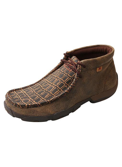 MENS CAYMAN PRINT DRIVING MOC