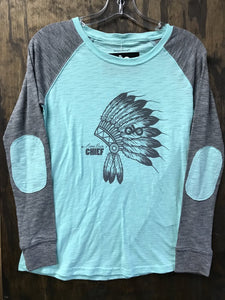 MINT HEADDRESS ARENA BUM L/S TEE