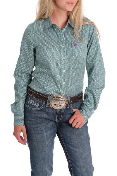 6/1 LADIES SNAP LONG SLEEVE SHIRT
