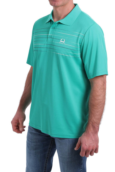 3/20 MENS TURQUOISE GREEN ARENAFLEX POLO SHIRT