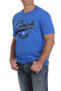 11/19 MENS BLUE CINCH TEE SHIRT