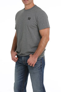 11/19 MENS GRAY CINCH TEE SHIRT