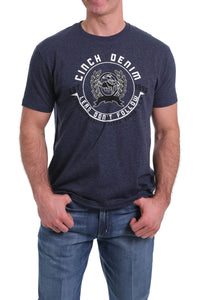 01/20 MENS NAVY CINCH TEE SHIRT