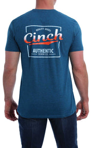 MENS NAVY CINCH TEE