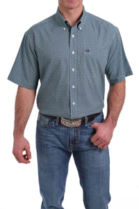3/20 MENS BLUE PRINT ARENAFLEX SHORT SLEEVE SHIRT