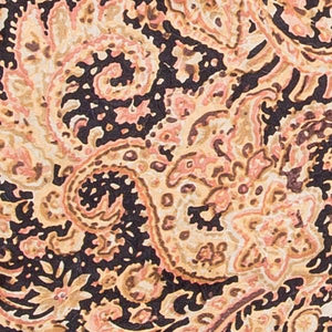 GOLD & BLACK PAISLEY WILDRAG