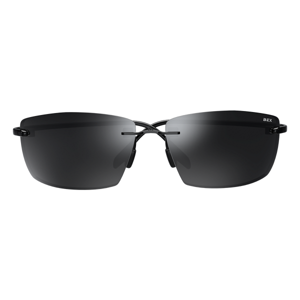 SYNTRA XL BLACK/GRAY BEX SUNGLASSES