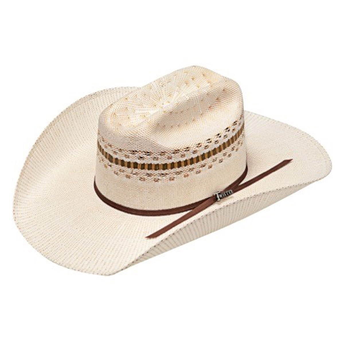 TOBACCO VENTED TWISTER STRAW HAT