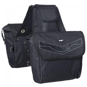 TOUGH 1 LARGE NYLON INSULATED SADDLE BAG