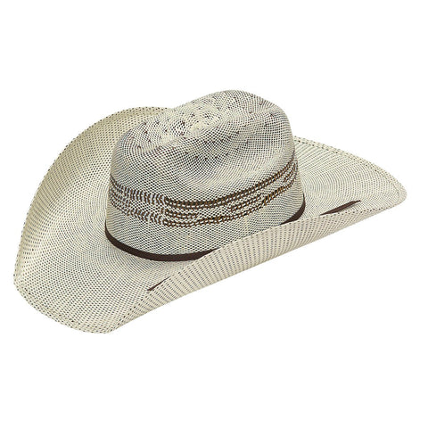 YOUTH TWISTER BROWN BANGORA STRAW HAT