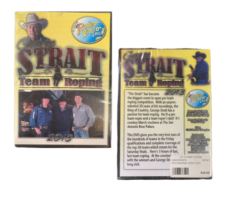 2013 GEORGE STRAIT DVD