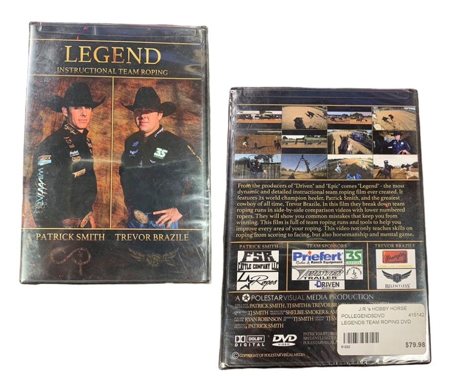 LEGENDS TEAM ROPING DVD