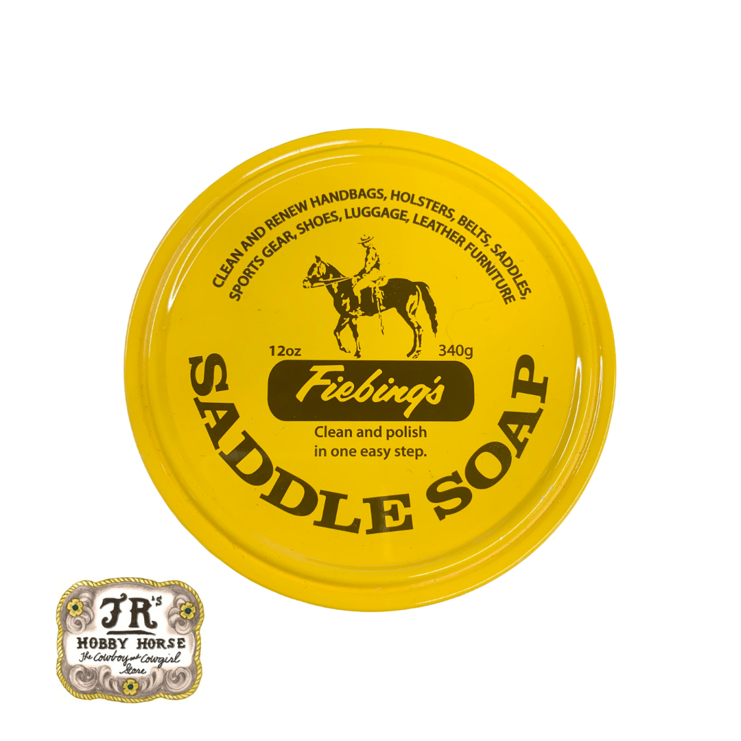 FIEBINGS SADDLE SOAP 12 oz NATURAL