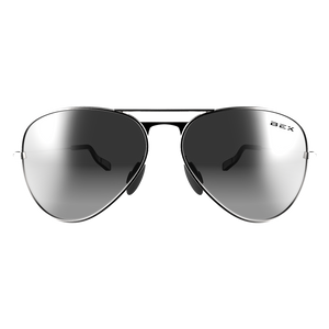 WESLEY SILVER/GRAY BEX SUNGLASSES