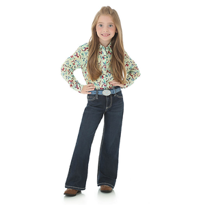 GIRLS WRANGLER RIDING JEAN