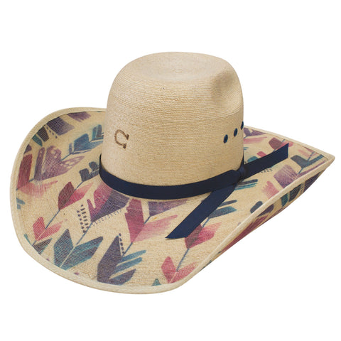 STRAIGHT ARROW PALM HAT