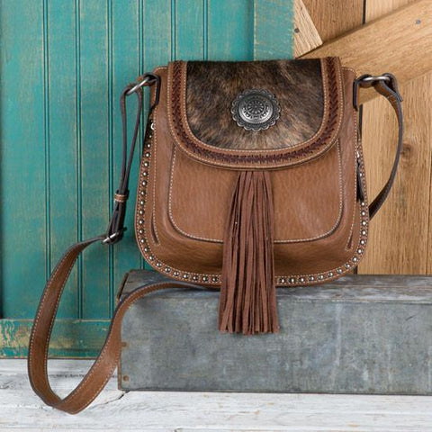 ELLA CONCEALED CARRY MESSENGER BAG