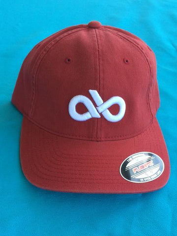 ARENA BUM RED FITTED CAP