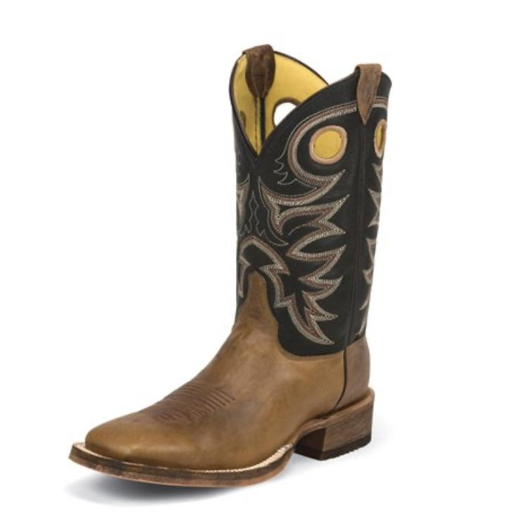 MENS CADDO BROWN STOCKMAN BOOT