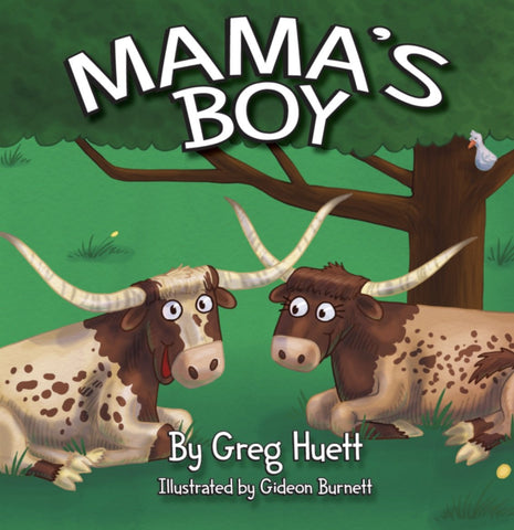 MAMA'S BOY KIDS BOOK