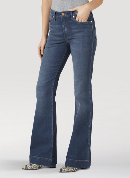 LADIES RETRO 5 POCKET TROUSER JEAN