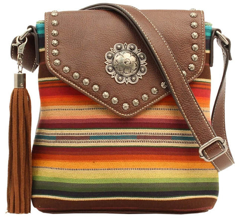 JOSIE CONCEALED CARRY MESSENGER PURSE