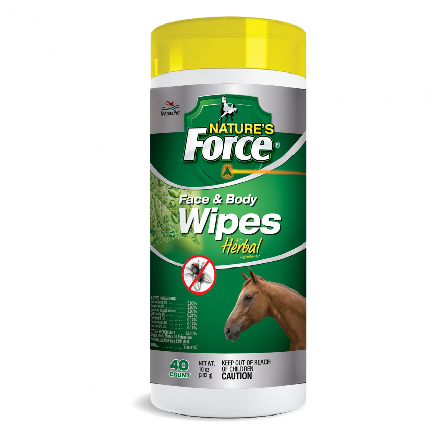 NATURES FORCE FACE & BODY WIPES