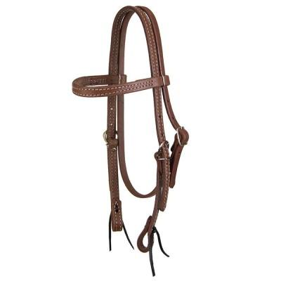DARK OIL PONY BROWBAND HEADSTALL